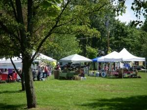 Farmer's Market in Wolfeboro, NH
