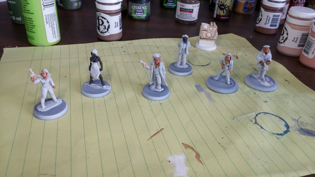 70s minis for Carnage Pulp Alley