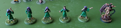 Pulp Figures Cowled Female Cultists
