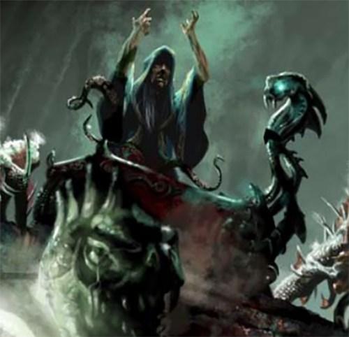 Cult priest of the Elder Gods