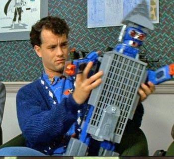 Tom Hanks in Big - That's not fun