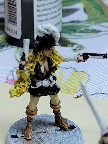 Miniature Monday: Lady Pirates & the Fellowship of the Ring