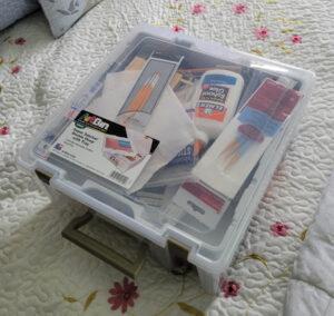 traveling painting kit