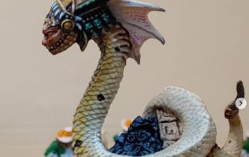 Painting a Naga - WIP