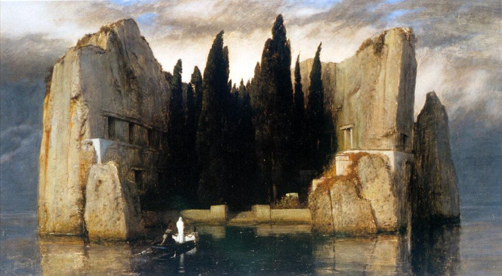 Arnold Boecklin - Island of the Dead-Wikimedia Commons